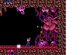 Image result for Contra nes alien heart