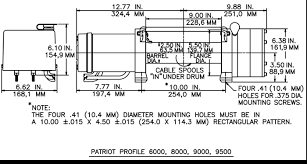 okoffroad com winch ramsey patriot profile click diagram for large view