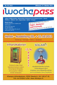Woche Pass Kw42 17 Oktober 2012 By Woche Pass Ag Issuu