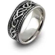 mens celtic knot wedding bands. silver mens celtic wedding rings knot bands