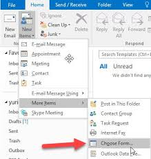 Create Outlook Message Template How To Creating Email Templates In Outlook 2016 Windowsinstructed