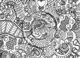 Small Picture Free Abstract Coloring Pages To Print Archives Inside New zimeonme