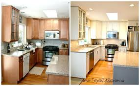 white and oak kitchen cabinets innovative painting old kitchen cabinets white magnificent home painting oak kitchen