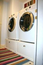 washer and dryer stands. Washer Dryer Platform And Stands Pedestal With Drawers