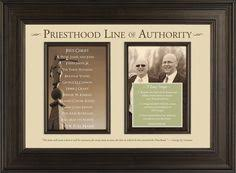 13 Best Priesthood Line Of Authority Images Lds Church