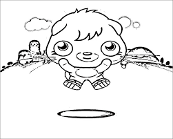 Moshi Monsters Coloring Pages Free Coloring Pages Free Premium