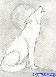 easy animals to draw realistically. How To Draw Howling Wolf Pictures Pinterest Drawings Art And Sketches Throughout Easy Animals Draw Realistically