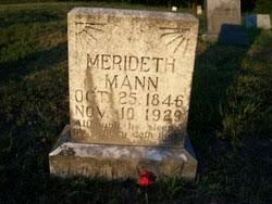 Meredith Mann (1846-1929) - Find A Grave Memorial