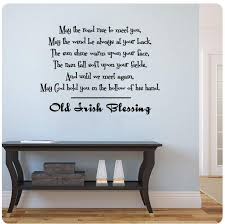 amazon old irish blessing wall decal sticker art mural home design of kitchen wall art stickers on kitchen wall art stickers amazon with amazon old irish blessing wall decal sticker art mural home design