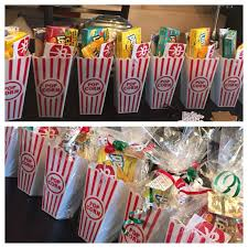 Christmas gift for my employees: Movie Ticket, Popcorn, and Candy http:/