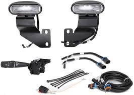 Mopar Fog Lights Jeep Wrangler Mopar 82210217 Off Road Oval Fog Light Kit For 07 10 Jeep Wrangler Jk