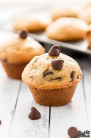 super moist bite size banana chocolate chip mini ins are perfect for snacking
