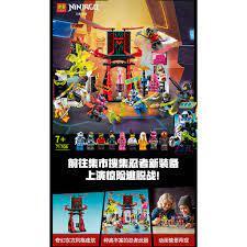Đồ chơi lắp ráp Ninjago Lari 11484 Season phần 12 Xếp Hình Ninja Sàn đấu  game thủ Minifigures Digi Jay Avatar Nya Cole chính hãng 185,000đ