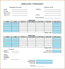 Biweekly Timesheet Excel Bi Weekly Timesheet Template Timetoreflect Co