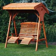 patio furniture swings swing wooden garden swing chair swings roofed comfort seat intended r outdoor patio