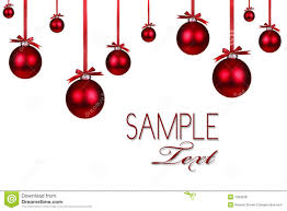 Royalty-Free Stock Photo. Download Red Christmas Holiday Ornament ...