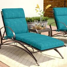 outdoor furniture chaise lounge cushions three posts indoor outdoor chaise lounge cushion reviews patio furniture chaise lounge cushions
