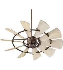 quorum 95210 86 windmill 52 inch oiled bronze with weathered oak blades indoor ceiling fan