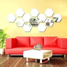 wall decor mirror stickers wall decor mirror
