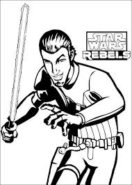 Kleurplaat Star Wars Rebels 3