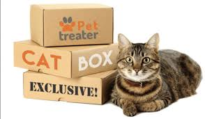 Pet Treater Cat Box
