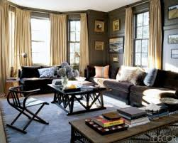 brown wooden color scheme for living room black white fur rugs an teen design interior ideas