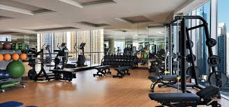 the fitness centre at address dubai marina image description image description