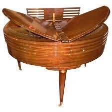 Art Deco Streamline Design Wurlitzer Butterfly Baby Grand Piano