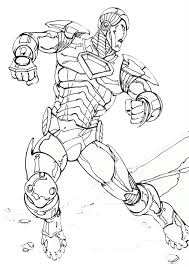Iron man coloring pages for kids. Coloring Pages Iron Man Coloring Sheet