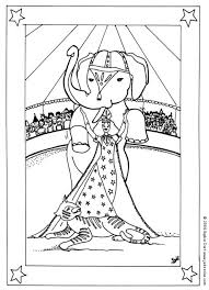 Small Picture Circus Coloring Pages Coloring Home
