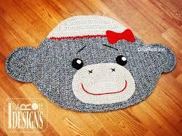 monkey rug y sock monkey rug crochet pattern monkey rug crochet pattern monkey rug