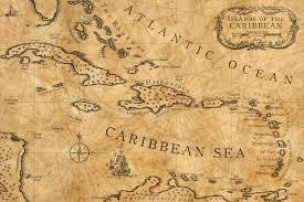 Chart Of Caribbean Islands Caribbean Nautical Chart By Shawnbrown Deviantart Com On