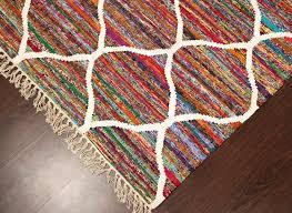 moroccan trellis rug brown