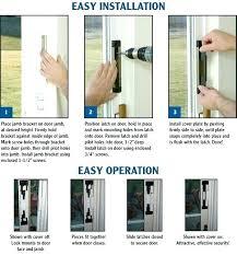 install screen door sliding screen door screen