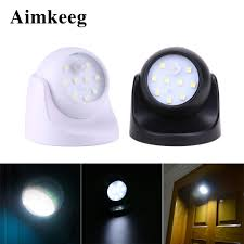 Rotating Led Security Light Us 6 67 31 Off Led Wireless Motion Sensor Light 360 Degree Rotation Night Light Smd Led Wall Lamp Pir Infrared Detector Night Lamp For Stairs In Led