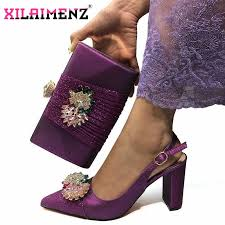 Party Shoes Without Bag To Match Italian <b>PU</b> Leather Comfortable ...