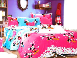 Minnie Mouse Bedroom Set Mouse Toddler Bedding Sets Mouse Bedroom ...