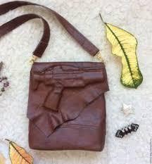 Купить <b>Сумка</b>-планшет коричневая из натуральной кожи ...