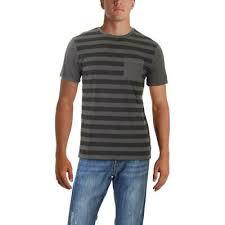 Roark Revival Mens Well Worn Print Black Pullover T Shirt