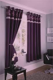 logan eyelet curtains 66 x 72 inch drop plum