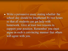 literary analysis middle school ppt video online  write a persuasive essay stating whether the school day should be lengthened by two hours so