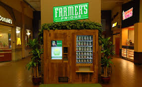 Healthy Food Vending Machines Franchise Fascinating Next Generation Vending Machines Dispense Healthy Food