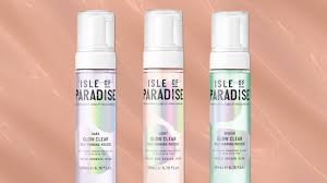 Clear Light Spray Tan Isle Of Paradise Launches Its First Clear Tanning Mousse