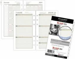 Details About At A Glance Day Runner Weekly Planner Refill Size 3 Weekly Planner Refills