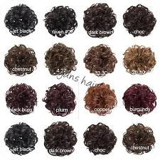 Koko Hair Scrunchie Wrap Curly Or Wavy Messy Bun Updo