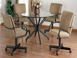 kitchen table and chairs with wheels modern kitchen chairs wheels with kitchen chairs kitchen chairs with