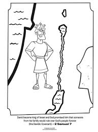 Small Picture Kids coloring page from Whats in the Bible featuring King David
