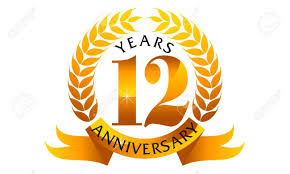 Anniversary Ribbon 12 Years Ribbon Anniversary Royalty Free Cliparts Vectors And