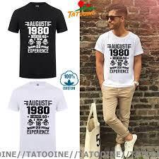 มิถุนายนกรกฎาคมสิงหาคมกันยายนตุลาคมธันวาคม 1980  ปีวันเกิดTเสื้อผู้ชายแฟชั่นลำลองมกราคมกุมภาพันธ์มีนาคมเมษายนพฤษภาคม|เสื้อยืด