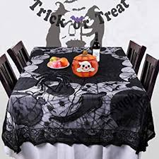 Halloween Spider Web Tablecloth with Pumpkin and ... - Amazon.com
